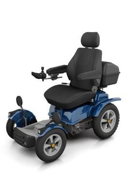 Así es la silla de ruedas de Philippe Croizon  -Foto: Twiiter: @PhilippeCROIZON