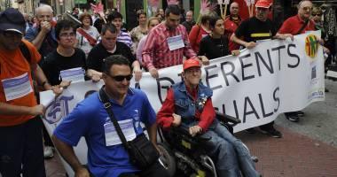 Grito de la discapacidad al copago