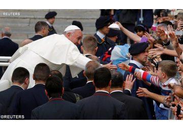 El Papa Francisco en la audiencia general de los miércoles - REUTERS